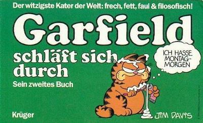 Cover for Garfield (Wolfgang Krüger Verlag, 1984 series) #2