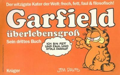 Cover for Garfield (Wolfgang Krüger Verlag, 1984 series) #3