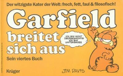 Cover for Garfield (Wolfgang Krüger Verlag, 1984 series) #4