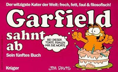 Cover for Garfield (Wolfgang Krüger Verlag, 1984 series) #5