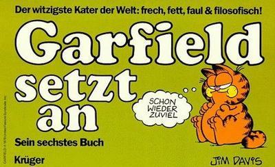 Cover for Garfield (Wolfgang Krüger Verlag, 1984 series) #6