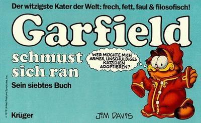 Cover for Garfield (Wolfgang Krüger Verlag, 1984 series) #7