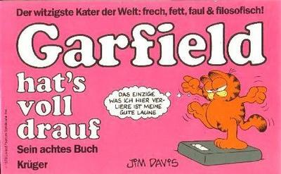 Cover for Garfield (Wolfgang Krüger Verlag, 1984 series) #8
