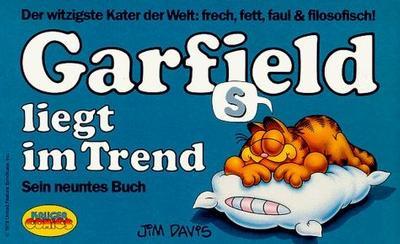 Cover for Garfield (Wolfgang Krüger Verlag, 1984 series) #9