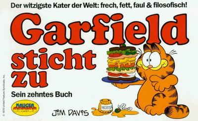 Cover for Garfield (Wolfgang Krüger Verlag, 1984 series) #10