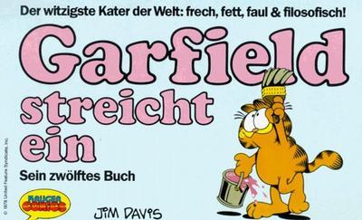 Cover for Garfield (Wolfgang Krüger Verlag, 1984 series) #12
