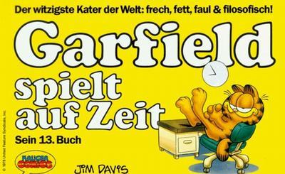 Cover for Garfield (Wolfgang Krüger Verlag, 1984 series) #13