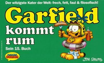 Cover for Garfield (Wolfgang Krüger Verlag, 1984 series) #15