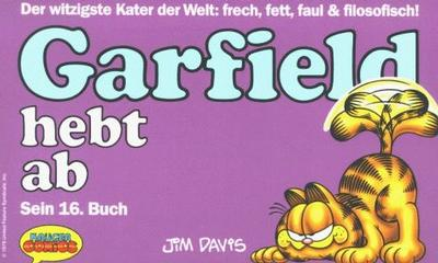 Cover for Garfield (Wolfgang Krüger Verlag, 1984 series) #16