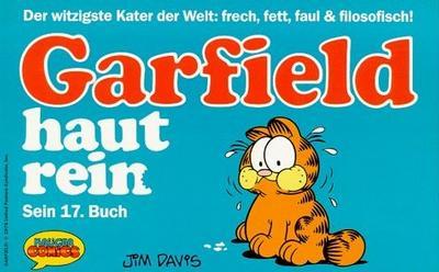 Cover for Garfield (Wolfgang Krüger Verlag, 1984 series) #17