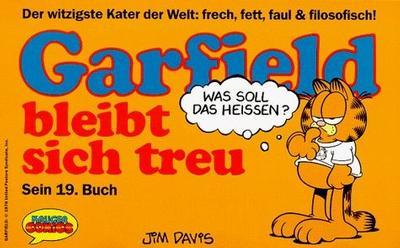 Cover for Garfield (Wolfgang Krüger Verlag, 1984 series) #19