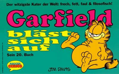 Cover for Garfield (Wolfgang Krüger Verlag, 1984 series) #20