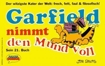 Cover for Garfield (Wolfgang Krüger Verlag, 1984 series) #21