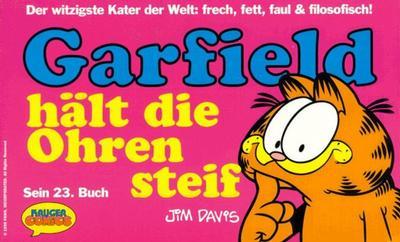 Cover for Garfield (Wolfgang Krüger Verlag, 1984 series) #23