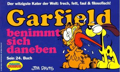 Cover for Garfield (Wolfgang Krüger Verlag, 1984 series) #24