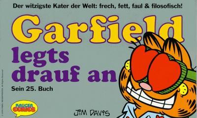 Cover for Garfield (Wolfgang Krüger Verlag, 1984 series) #25