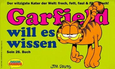 Cover for Garfield (Wolfgang Krüger Verlag, 1984 series) #26
