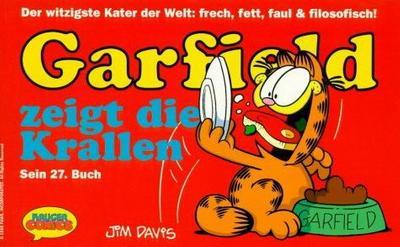 Cover for Garfield (Wolfgang Krüger Verlag, 1984 series) #27