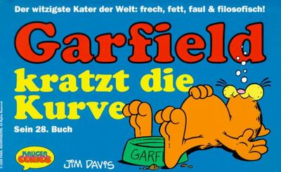 Cover for Garfield (Wolfgang Krüger Verlag, 1984 series) #28