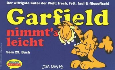 Cover for Garfield (Wolfgang Krüger Verlag, 1984 series) #29
