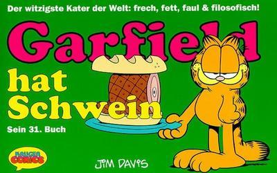 Cover for Garfield (Wolfgang Krüger Verlag, 1984 series) #31