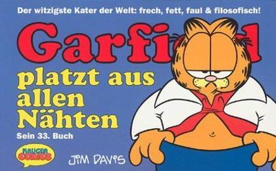 Cover for Garfield (Wolfgang Krüger Verlag, 1984 series) #33