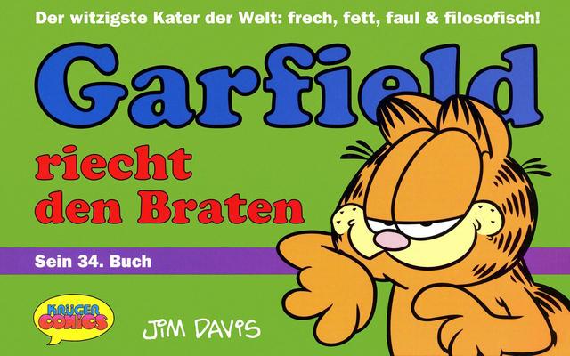 Cover for Garfield (Wolfgang Krüger Verlag, 1984 series) #34