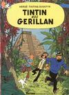 Cover for Tintins äventyr (Nordisk bok, 1984 ? series) #T-049; [237] - Tintin hos gerillan
