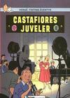 Cover for Tintins äventyr (Nordisk bok, 1984 ? series) #T-057A; [240] - Castafiores juveler