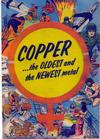 Cover for Copper...the Oldest and the Newest Metal (Copper and Brass Research Association, 1954 series)