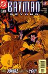 Cover for Batman Beyond (DC, 1999 series) #20