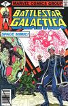 Cover for Battlestar Galactica (Marvel, 1979 series) #9 [Direct Edition]