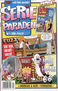 Cover Thumbnail for Serie-paraden (Egmont, 1997 series) #1/2001