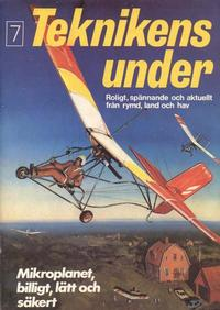 Cover Thumbnail for Teknikens under (Semic, 1976 series) #7