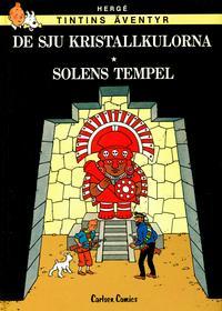 Cover Thumbnail for Tintins äventyr (Carlsen/if [SE], 1982 series) #S2 - De sju kristallkulorna * Solens tempel