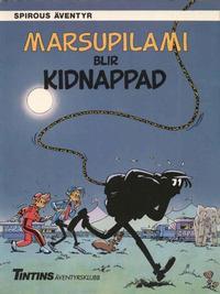 Cover Thumbnail for Spirous äventyr (Nordisk bok, 1984 series) #T-036 [218] - Marsupilami blir kidnappad