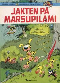 Cover Thumbnail for Marsupilamis äventyr (Nordisk bok, 1988 series) #T-056 [241] - Jakten på Marsupilami