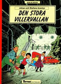 Cover Thumbnail for Johan och Stefans äventyr (Nordisk bok, 1988 series) #T-057B; [243] - Den stora villervallan