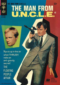 Cover Thumbnail for The Man from U.N.C.L.E. (Western, 1965 series) #8