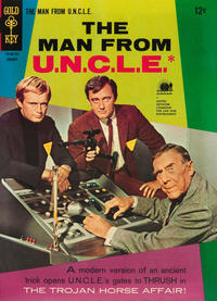 Cover Thumbnail for The Man from U.N.C.L.E. (Western, 1965 series) #10