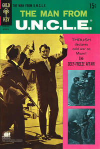 Cover Thumbnail for The Man from U.N.C.L.E. (Western, 1965 series) #20
