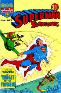 Cover Thumbnail for Superman Supacomic (K. G. Murray, 1959 series) #187