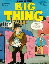 Cover Thumbnail for Colin Upton's Big Thing (Ed Varney, 1990 series) #1
