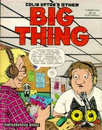 Cover Thumbnail for Colin Upton's Other Big Thing (Fantagraphics, 1991 series) #1