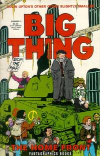 Cover Thumbnail for Colin Upton's Other Big Thing (Fantagraphics, 1991 series) #3