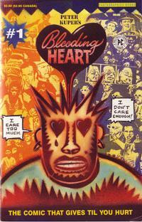 Cover Thumbnail for Bleeding Heart (Fantagraphics, 1991 series) #1
