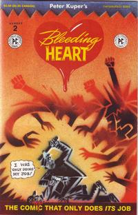 Cover Thumbnail for Bleeding Heart (Fantagraphics, 1991 series) #2