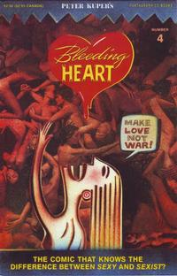 Cover Thumbnail for Bleeding Heart (Fantagraphics, 1991 series) #4