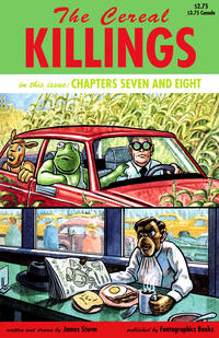 Cover Thumbnail for The Cereal Killings (Fantagraphics, 1992 series) #7
