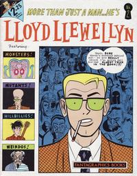 Cover Thumbnail for Lloyd Llewellyn (Fantagraphics, 1986 series) #2